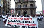 Las trabajadoras del Servicio de Atención Domiciliaria protestan por su externalización
