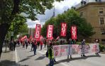 """CC OO y UGT homenajean a los trabajadores esenciales y piden """"cumplir"""" con ellos"""