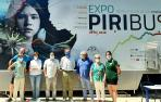 La exposición itinerante sobre el Pirineo 'Piribus' está instalada en el Señorío de Bertiz