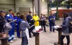 Trece desempleados reciben formación en soldadura en Buñuel