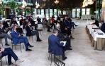Clausura de la Asamblea General de la Unión de Cooperativas Agroalimentarias de Navarra (UCAN).