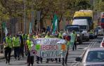 Defontaine, trabajadores riojanos y navarros alzan su voz en Estella