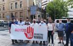 Ciudadanos se concentra en Pamplona contra los indultos del 'procés'