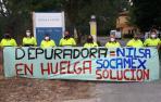 La plantilla de Socamex, en una huelga indefinida por sus malas condiciones laborales