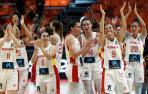 La selección española femenina, a las puertas de las medallas