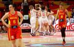 Las españolas, fuera de la lucha por las medallas del Eurobasket
