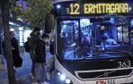 La pandemia modificó horarios y aforos en todo el servicio de transporte público.