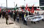 Manifestación en protesta por el bloqueo de la negociación del convenio.