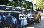 Un vehículo de Policía Nacional.