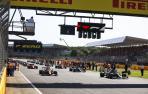 Salida de la novedosa calificación diseñada para la cita de Silverstone