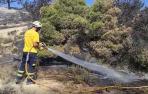 2 Vídeo de la zona afectada por el incendio en el Vedado de Eguaras