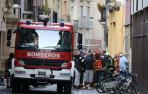 Bomberos de Trinitarios y Cordovilla se encargaron de las labores de extinción del fuego.