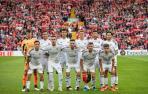 Los jugadores de Osasuna publicaron en sus perfiles sociales diferentes recuerdos de su visita a Anfield