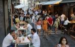 Las calles del Casco Viejo de Pamplona