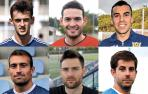 Los capitanes de los equipos navarros de Segunda RFEF