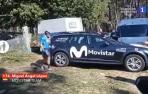 Miguel Ángel López se retira de la Vuelta