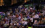 Imagen del concierto de José Luis Perales en Pamplona este sábado.
