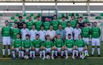 Los jugadores del San Juan, cuerpo técnico y responsables de la sección de fútbol se presentaron ayer en la Agrupación.