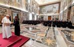 El Papa Francisco se reúne con la Orden de los Carmelitas Descalzos