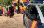 Policía Nacional en Carabanchel
