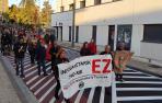 Protestas en la Txantrea contra la ORA
