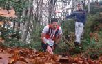 Xabier Zarranz, en la Basajaun Trail de 2019