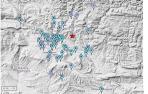 Mapa de los pueblos de Navarra en los que se ha notado el terremoto con cierta intensidad