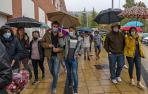 La lluvia condicionó varios de los eventos del día