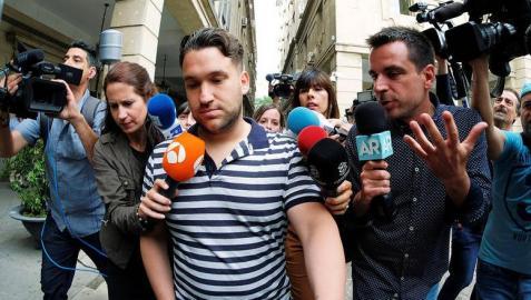 José Ángel Prenda, el segundo miembro de 'La Manada' en ir al juzgado
