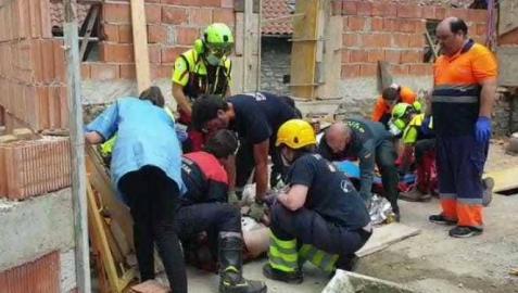 Accidente laboral en Urzainqui