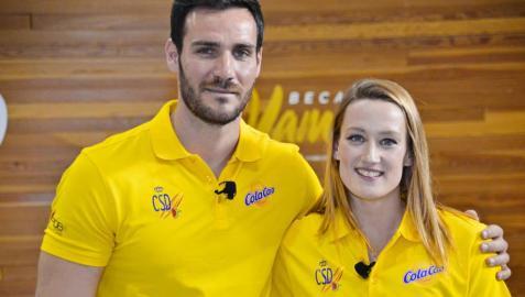 Saúl Craviotto y Mireia Belmonte serán los abanderados de España en los Juegos Olímpicos de Tokio 2020.