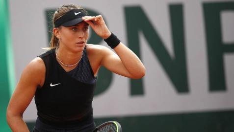 La tenista española Paula Badosa ha pasado a tercera ronda de Roland Garros.