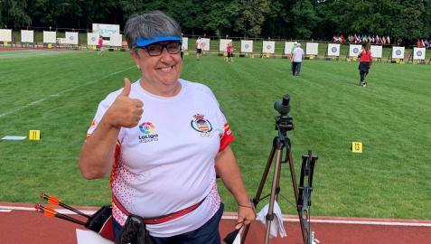Carmen Rubio, muy satisfecha en la República Checa