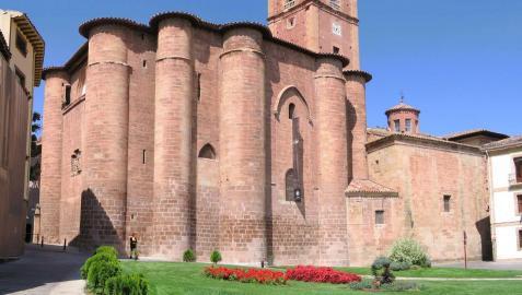 El monasterio de Santa María la Real de Nájera  alberga los mausoleos de reyes e infantes