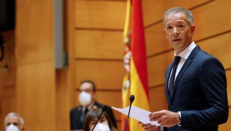 Ander Gil, presidente del Senado
