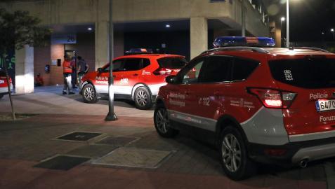 Imagen de archivo de patrullas de la Policía Foral