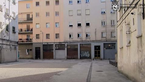 El Ayuntamiento de Pamplona ha aprobado este lunes el contrato para la reurbanización de la plaza del Grupo Oscoz