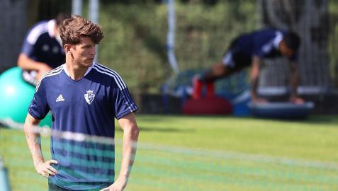 Marc Cardona mira al horizonte en el entrenamiento de este jueves