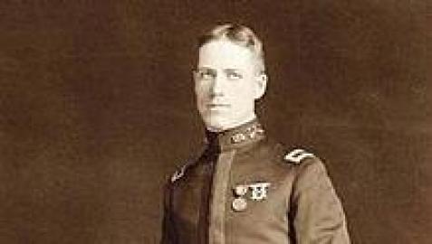 Fotografía del coronel Guy Wyman, fundador de la comunidad de Navarra, Florida