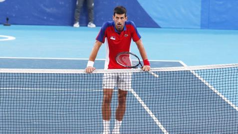 Novak Djokovic, tras finalizar el partido ante Pablo Carreño