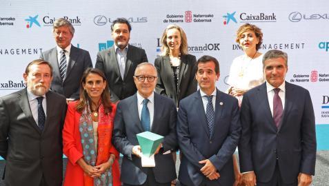 Enrique Sánchez de León, Iñaki Díez, Izaskun Goñi, Inés Artajo, Luis Colina, Isabel Moreno, Juan Miguel Floristán, Miguel Irujo y Benito Jiménez.