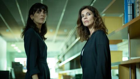 Un fotograma de la serie 'Ana Tramel. El juego', protagonizada por Maribel Verdú