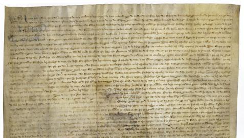 Uno de los documentos que se pueden ver sobre la Batalla de Beotíbar