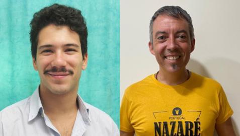 Nacho López e Iñigo Ilundáin.