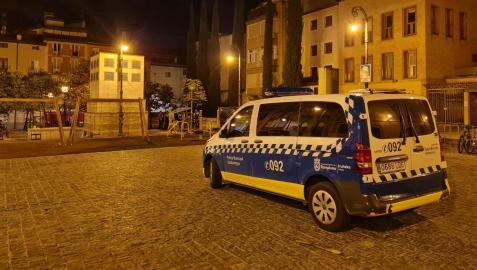 La Policía Municipal de Pamplona realizó el fin de semana 289 intervenciones