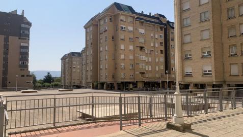 La urbanización Santa Cruz de Ardoi, donde se han producido quejas vecinales por robos y actos violentos