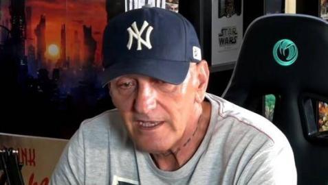 Coto Matamoros, en una de sus intervenciones en YouTube