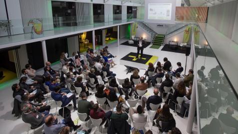Start-ups reunidas en CEIN con motivo del proyecto Orizont