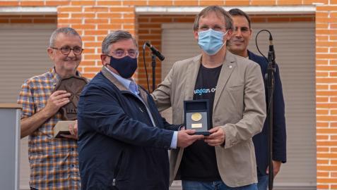 Entrega del Premio Manuel Irujo