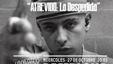 Presentación del concierto de Trueno en Pamplona
